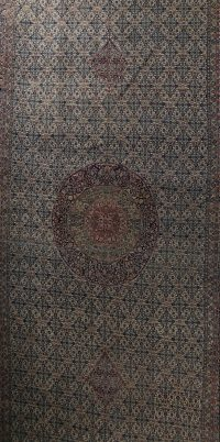 Geometric 14x23 Bidjar Persian Area Rug