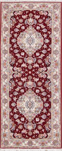 Floral 3x7 Tabriz Persian Rug Runner