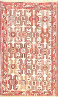 Geometric 4x6 Kilim Sumak Persian Area Rug
