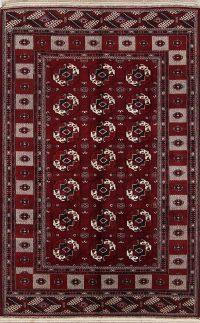 Geometric 8x12 Balouch Persian Area Rug