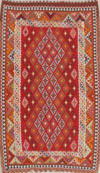 Geometric Kilim Persian Area Rug 6x9