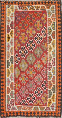 Geometric Kilim Persian Area Rug 5x8