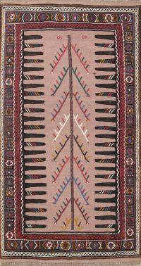Tribal Senneh Shiraz Persian Area Rug 3x6