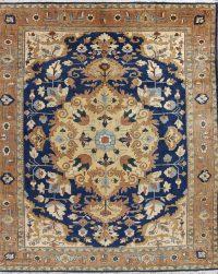 Geometric Heriz Persian Area Rug 14x15