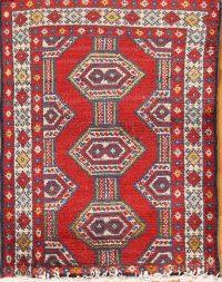 Balouch Persian Area Rug 2x3