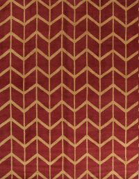 Geometric Moroccan Trellis Indian Oriental Area Rug 9x12