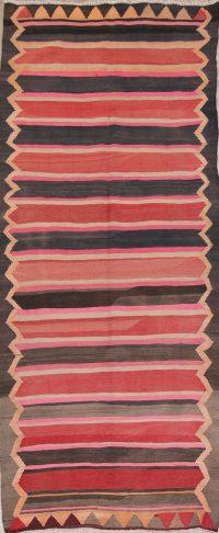 Stripe Kilim Shiraz Persian Runner Rug 5x12