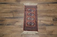 Tribal Bokhara Pakistan Oriental Wool Rug 1x2