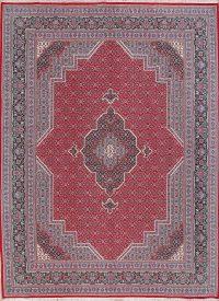 Geometric Red Bidjar Turkish Oriental Area Rug Wool 10x13