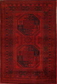 4x5 Balouch Oriental Area Rug