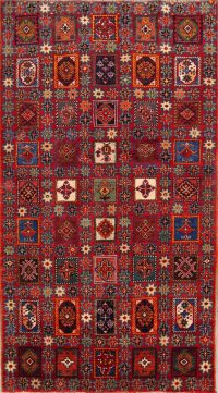 Vegetable Dye Tribal Gabbeh Zolanvari Persian Hand-Knotted 4x7 Wool Rug