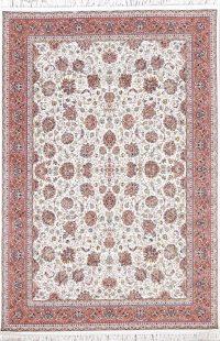 Floral Tabriz Turkish Oriental Rug