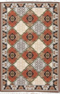 All-Over Geometric Kilim Turkish Oriental 5x7 Area Rug