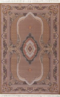 Brown Geometric Bidjar Turkish Oriental 7x10 Area Rug