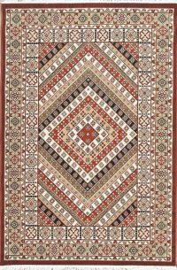Geometric Kilim Shiraz Turkish Oriental 5x7 Area Rug