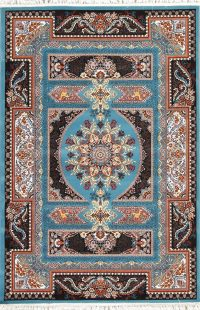 Animal Pictorial Floral Hereke Turkish Oriental 5x7 Area Rug