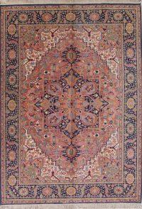 Geometric Rose Karastan Oriental 9x12 Wool Area Rug