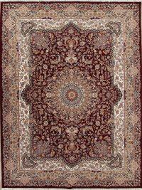 Geometric Tabriz Turkish Oriental 10x13 Acrylic Wool Area Rug