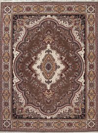Floral Aubusson Turkish Oriental 10x13 Acrylic Wool Area Rug