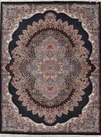 Floral Tabriz Turkish Oriental 10x13 Wool Acrylic Area Rug