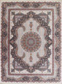 Floral Hereke Turkish Oriental 10x13 Acrylic Wool Area Rug