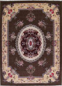 Geometric Aubusson Turkish Oriental 10x13 Acrylic Wool Area Rug