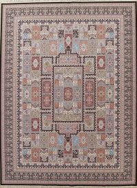 Garden Design Hereke Turkish Oriental 10x13 Acrylic Wool Area Rug