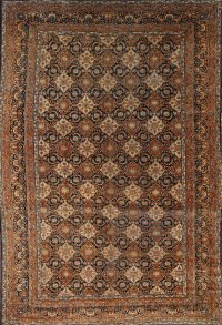 Antique 10x15 Kerman Persian Area Rug