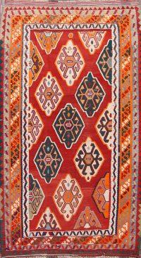 5x9 Kilim Shiraz Persian Area Rug