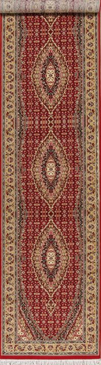 Geometric Bidjar Turkish Oriental Runner Rug