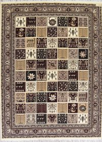 Garden Design Bakhtiari Turkish Oriental 10x13 Acrylic Wool Area Rug