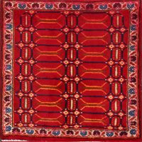 2x2 Shiraz Persian Area Rug