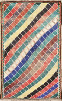 Gabbeh Shiraz Modern Rug 4x7