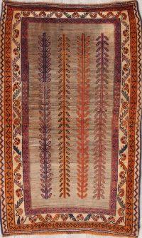 Gabbeh Shiraz Persian Rug 4x6