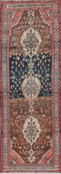 Multi-Color Malayer Persian Runner Rug 4x10