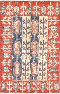 Kazak-Chechen Oriental Rug 3x4