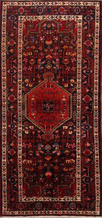 Tribal Geometric Malayer Persian Runner Rug 4x9