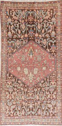 Pre-1900 Vegetable Dye Bakhtiari Persian Area Rug 5x9