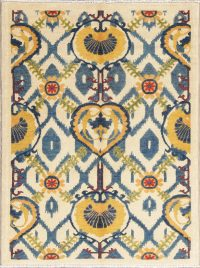 All-Over Kazak-Chechen Oriental Rug 4x5
