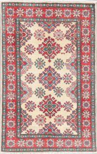 Super Kazak-Chechen Oriental Wool Rug 3x4