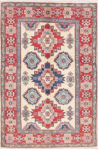 Geometric Super Kazak Pakistan Wool Rug 3x5