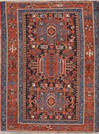 Antique Gharajeh Persian Wool Rug 3x4