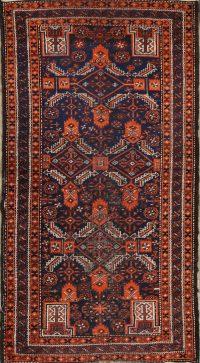 Antique Balouch Afghan Oriental Runner Rugs 3x6
