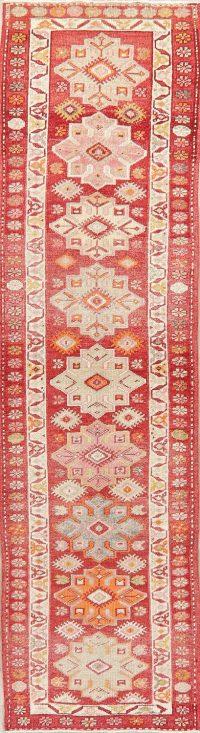 Oushak Turkish Oriental Wool Runner Rug 3x11
