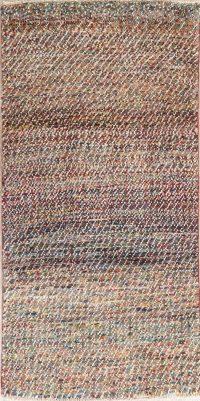 Modern Gabbeh Shiraz Persian Wool Rug 3x5