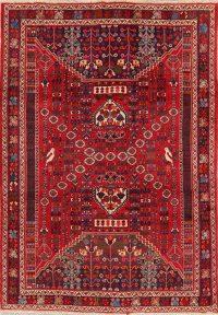 Tribal Geometric Kashkoli Persian Area Rug 7x10