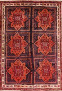 Vintage Geometric Lori Persian Area Rug 7x10