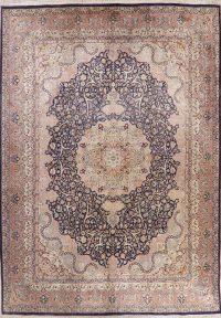 Vintage Floral Oushak Oriental Wool Rug 9x13