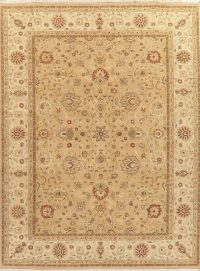 All-Over Floral Peshawar Oriental Area Rug 9x12