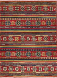 Multi-Color Kazak-Chechen Oriental Rug 5x7